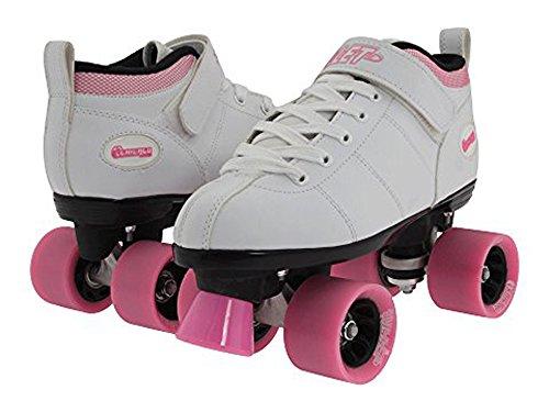 Chicago Bullet Ladies Speed Roller Skate White