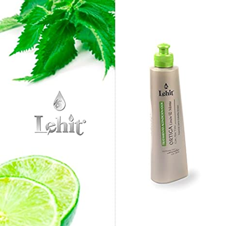 Amazon.com: TREATMENT FOR HAIR LEHIT-TRATAMIENTO ACONDICIONADOR ORTIGA LIMON Y MENTA CON ALOE VERA ESPECIAL PARA CABELLO GRASO - TREATMENT FOR OIL HAIR WITH ...