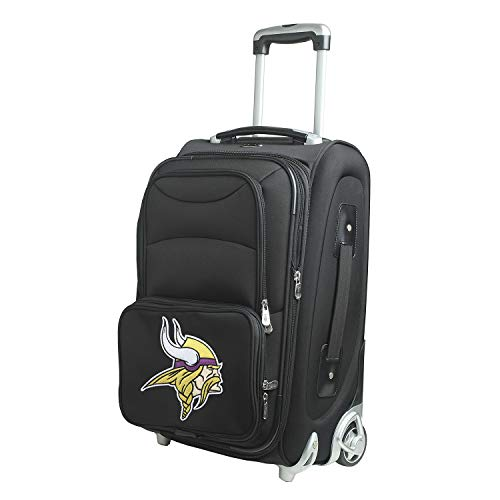 Denco NFL Minnesota Vikings 21-inch Carry-On Luggage