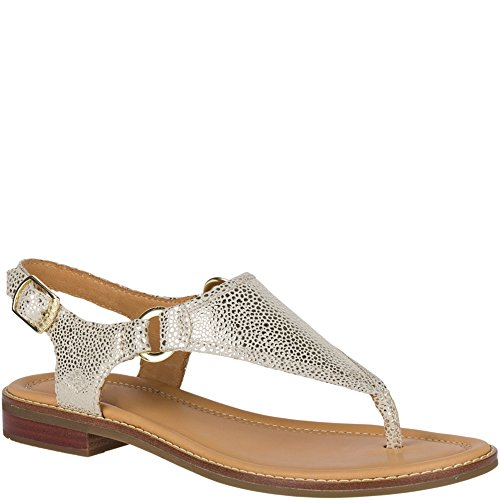 Abbey Sandal Sperry Sider Top Platinum wxnvq