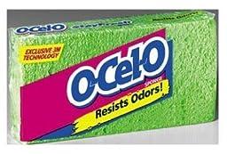 O-cel-o Cellulose Sponge (Pack Of 12)