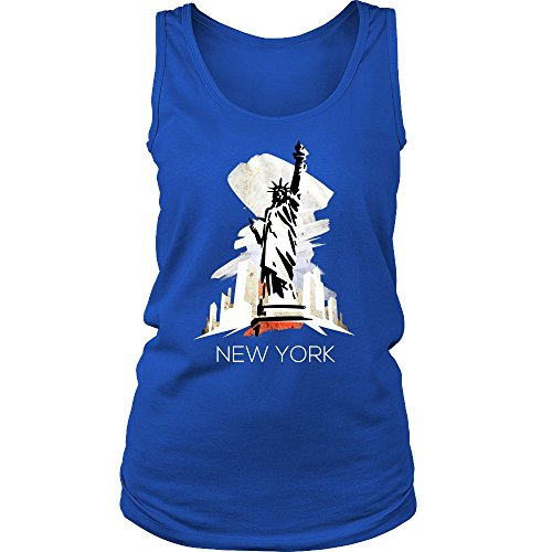 Nyc Love New York State Flag Statue Of Liberty Tank Top T Shirt
