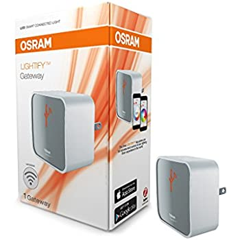 osram lightify wireless gateway hub bridge between smart home devices using zigbee new. Black Bedroom Furniture Sets. Home Design Ideas