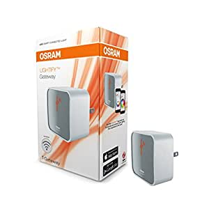 OSRAM LIGHTIFY Wireless Gateway / Hub / Bridge between Smart Home Devices using Zigbee New Version, Works with Nest, 73692
