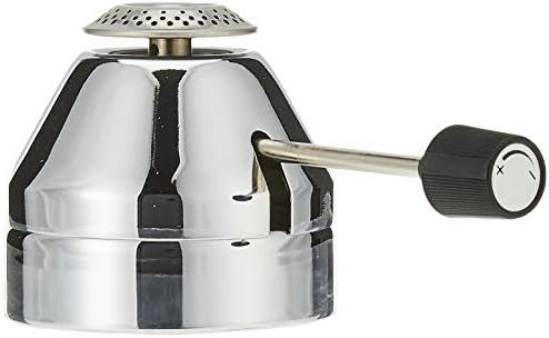 Bodum - K11423-16 - Pebo - Réchaud avec Réserve à Gaz Intégrée - Acier Inoxydable