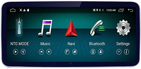 10.25 Round Corner 1920×720 Resolution Blu-ray HD Car Touch Screen for Mercedes Benz GLA CLA A Class X156 C117 2016-2018 NTG5.0 Car System Navigation Stereo Radio
