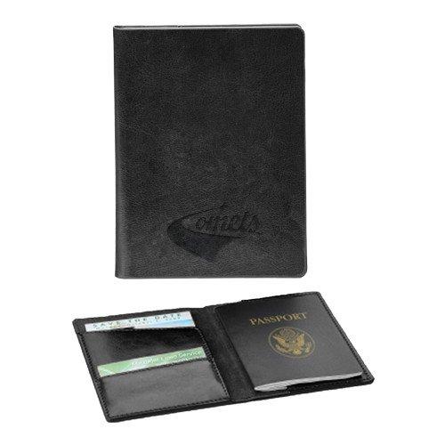 UT Dallas Fabrizio Black RFID Passport Holder 'Official Logo Engraved' by CollegeFanGear