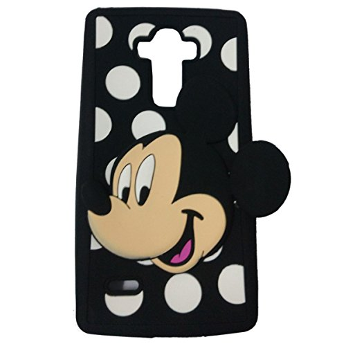 LG Premier LTE Silicone Case,Emily Fashion Super Cute 3D Cartoon Character Happy Mouse Baby Protective Silicone Back Case Cover for LG Premier (Cartoons Characters)