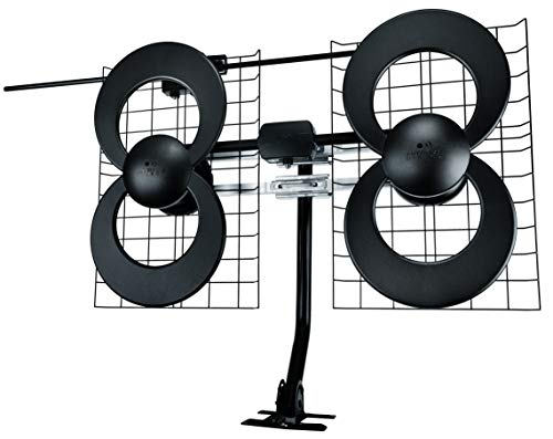 Antennas Direct ClearStream 4V TV Antenna, 70+ Mile Range, UHF/VHF, Multi-directional, Indoor,...