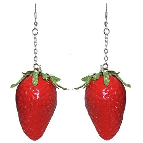 Coated Styrofoam Strawberries Plastic Chain product image