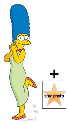 Amazon.com: Fan Pack - Marge Simpson Lifesize Cardboard Cutout ...
