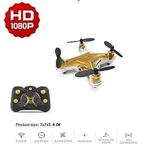 LJXWXN Drone con Cámara HD De 1080P Mini Control Remoto Quadcopter ...