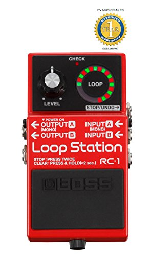 Boss RC-1 Loop Station Pedal with 1 Year Free Extended Warranty