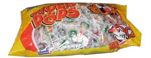 Tiger Pops Original Assorted Fruit Flavor - 200 Pops Bag (70.5 -