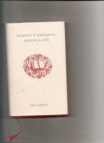 Read Online Schott's Original Miscellany pdf epub