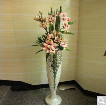 techo kit de emulacin de jarrones de flores hotel lobby decorado grande kit de jarrones con