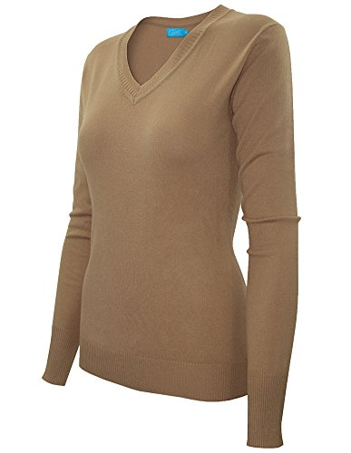 cielo-womens-classic-long-sleeve-soft-cotton-silk-solid-ribbed-v-neck-sweater-large-camel