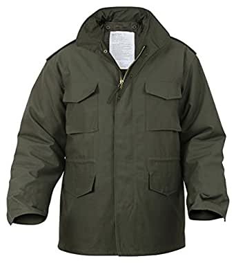 Rothco M-65 Field Jacket - Olive Drab, X-Small