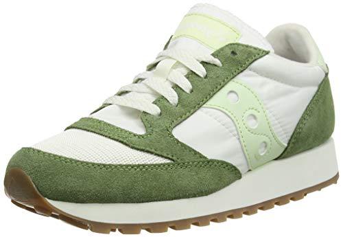 Saucony JAZZ ORIGINAL VINTAGE, Herren Sneaker, Green/White, 38.5 EU (5 UK)