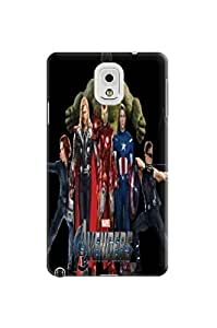 Steven L.Cummings Fashion Forward TPU Samsung Galaxy Note3 Cover/Cases with Stars Marvel Avengers Captain America for 2014