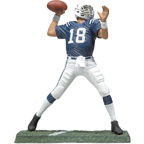 Indianapolis Colts Figurine (Mcfarlane Toys Indianapolis Colts Peyton Manning Figurine)