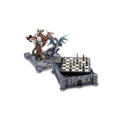 Koehler Medieval Dragon Chess Set Kids Children