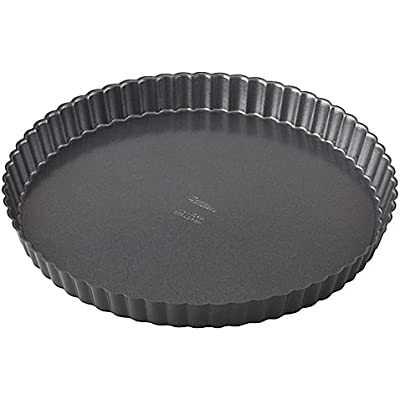 Wilton Advance Select Premium Nonstick 11-Inch Tart/Quiche Pan in Gunmetal