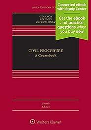 Civil Procedure: A Coursebook [Connected eBook with Study Center] (Aspen Casebook)