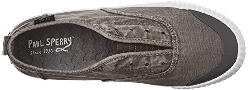 Top Sperry Washed Sayel Sider Women's Clew Grey Canvas Sneaker SdwrdUq