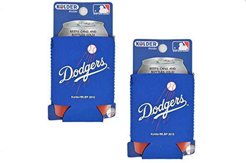 Official Major League Baseball Fan Shop Authentic 2-Pack MLB Insulated 12 Oz Can Cooler (Los Angeles Dodgers)