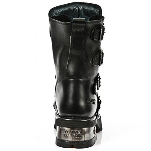 New Rock Støvler M.1471-r3 Gotisk Hardrock Punk Unisex Stiefel Sort ojXJMlMI5j