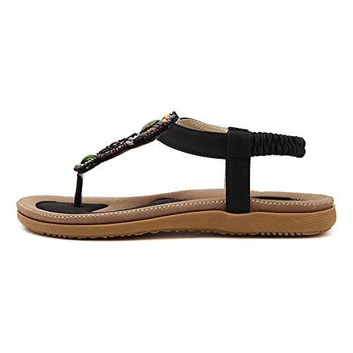 DULEE - Zapatos con tacón mujer Beige