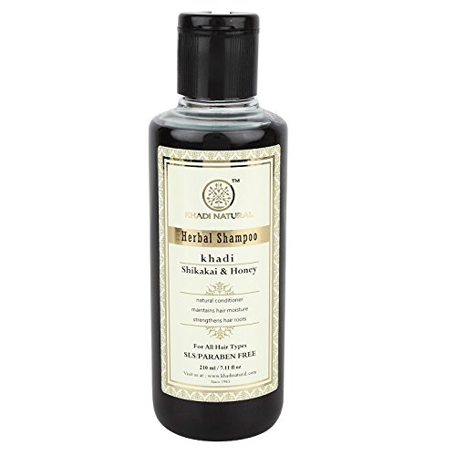 Khadi Shikakai & Honey Shampoo SLS and Paraben Free, 210ml