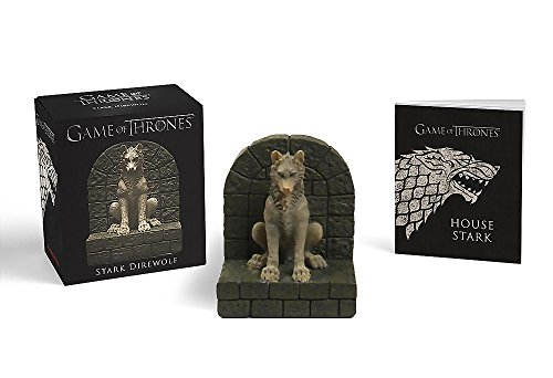 Game of Thrones: Stark Direwolf [With Statue]
