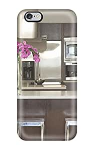 For Iphone 6 Plus Fashion Design Modern Kitchen With Stainless Appliances Amp Floating Staircase With Cable Railing Case-sQSGTtn563BpANT
