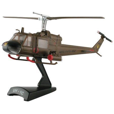 Model Power 1/100 Huey Diecast Helicopter