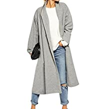 Gillberry Womens Trench Coat Long Cloak Jackets Overcoat Waterfall Cardigan