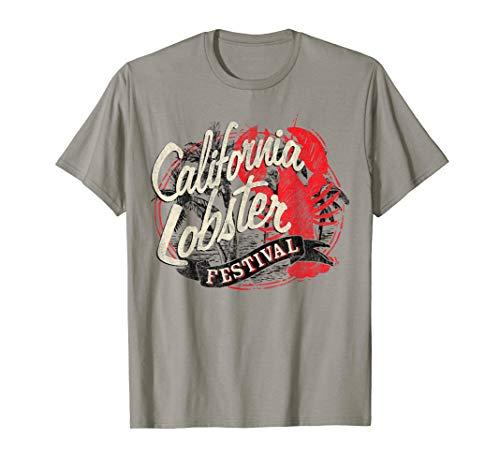 (California Lobster Festival Vintage Destination T-Shirt)