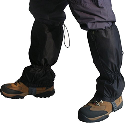 QHGstore 1 Pair Waterproof Outdoor Hiking Walking Climbing Hunting Snow Legging...