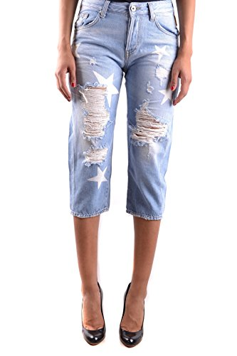 Meltin'pot Jeans Donna MCBI340081O Cotone Azzurro