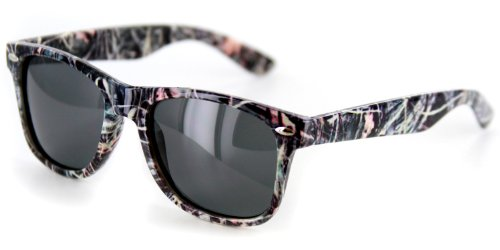 Camo Spex Wayfarer Polarized Sunglasses for Men & Women Protect Your Eyes From Harmful Glare for Those Who Like To Hunt, Fish, Camp, and Play - Wayfarer Camo Sunglasses