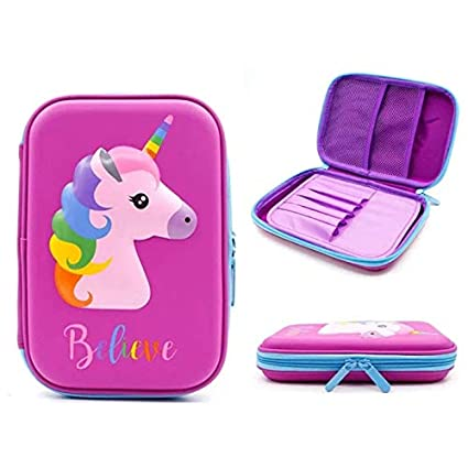 Amazon.com : | Pencil Cases | Unicorn Pencil case Kawaii ...