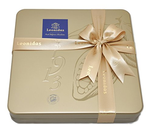 Leonidas Belgian Chocolates: Gold Tin
