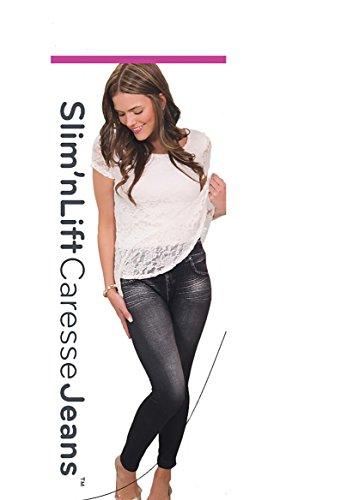 Slim N Lift Caresse Jeans (Black) - 1