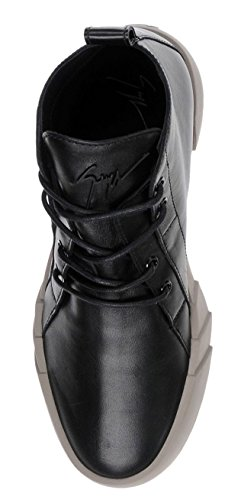 Giuseppe Zanotti Vagabundo Becerro London Jeti High-top Sneaker (7 Us)