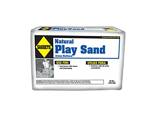 Sakrete 40100374 Natural Play Sand, 60 Pound