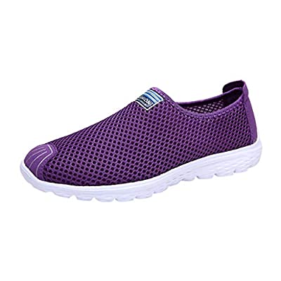 RAINED-Women's Fashion Sneakers Casual Mesh Breathable Lightweight Shoes Sport Running Shoes Fitness Loafers