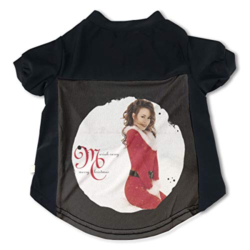 Cats Mariah Carey Merry Christmas Deluxe Anniversary Edition Cute Music Band Fans Pet Tee Clothing L Gift