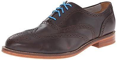 J. Shoes Men's Charlie Shoe dark brown 9.5 D US