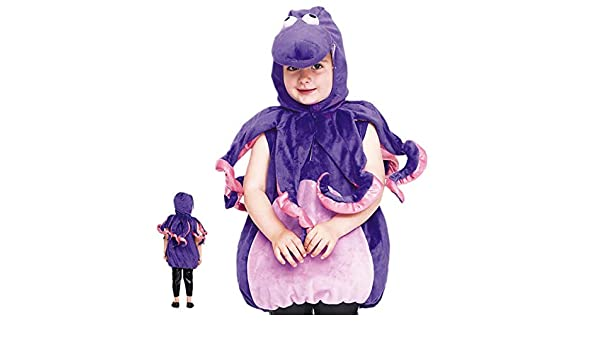 Disfraz Pulpo Bebé - Animales Carnaval (5-6 años) (+ Tallas ...